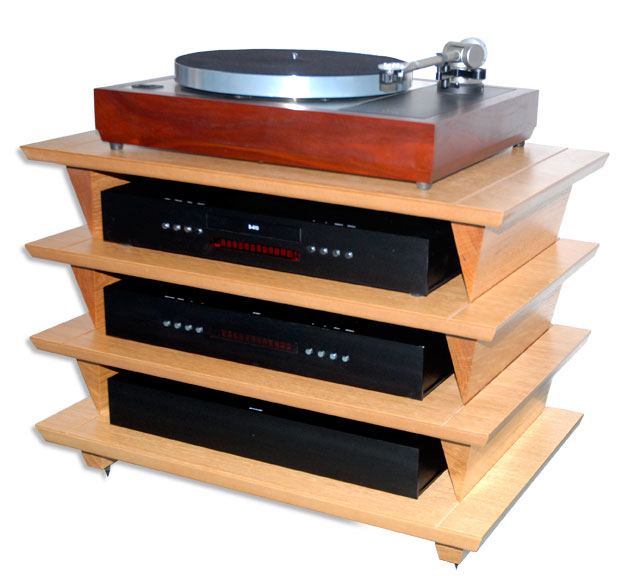 solid wood hi fi rack woodproject. Black Bedroom Furniture Sets. Home Design Ideas